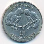 Кипр, 1 фунт (1989 г.)