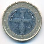 Кипр, 1 евро (2008 г.)