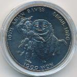 Южная Корея, 1000 вон (1986 г.)