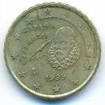Испания, 10 евроцентов (1999 г.)