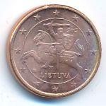 Литва, 1 евроцент (2015 г.)