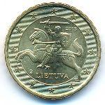 Литва, 10 евроцентов (2015 г.)