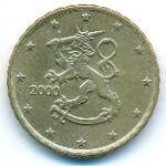 Финляндия, 10 евроцентов (2000 г.)