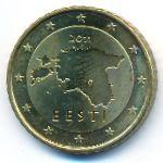 Эстония, 50 евроцентов (2011 г.)