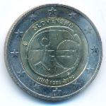 Словакия, 2 евро (2009 г.)