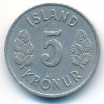 Исландия, 5 крон (1969 г.)