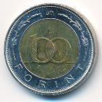 Венгрия, 100 форинтов (2002 г.)