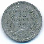 Чили, 10 сентаво (1936 г.)