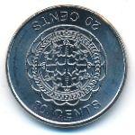 Соломоновы острова, 20 центов (2012 г.)