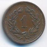 Швейцария, 1 раппен (1921 г.)
