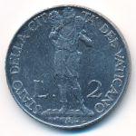 Ватикан, 2 лиры (1941 г.)