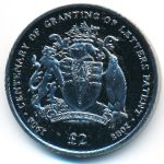 Британская Антарктика, 2 фунта (2008 г.)