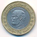 Тунис, 5 динаров (2002 г.)