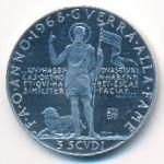 Мальтийский орден, 3 скудо (1968 г.)
