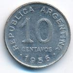 Аргентина, 10 сентаво (1956 г.)