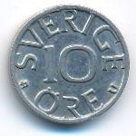 Швеция, 10 эре (1977 г.)