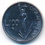 Ватикан, 100 лир (1991 г.)