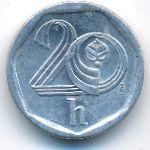 Чехия, 20 гелеров (1998 г.)