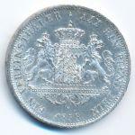 Бавария, 1 талер (1858 г.)