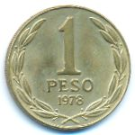 Чили, 1 песо (1978–1979 г.)