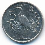 Малави, 5 тамбала (1971 г.)