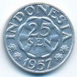 Индонезия, 25 сен (1957 г.)