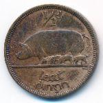 Ирландия, 1/2 пенни (1937 г.)
