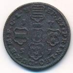 Льеж, 4 лиарда (1751 г.)