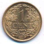 Антильские острова, 1 цент (1963 г.)