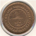 Straits Settlements, 1/4 cent, 1916