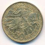 Монако, 50 франков (1950 г.)