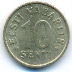 Эстония, 10 сентов (2002 г.)