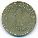 Эстония, 1 крона (2003 г.)