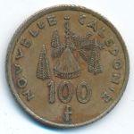 Новая Каледония, 100 франков (2003 г.)