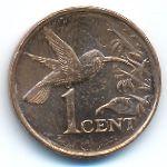 Тринидад и Тобаго, 1 цент (2008 г.)