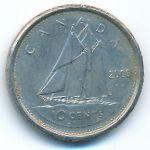 Канада, 10 центов (2006 г.)