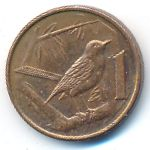 Каймановы острова, 1 цент (2002 г.)