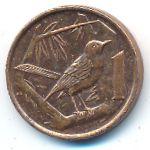 Каймановы острова, 1 цент (2005 г.)