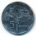 Сейшелы, 5 рупий (2010 г.)