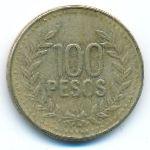Колумбия, 100 песо (2010 г.)