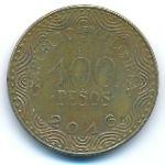 Колумбия, 100 песо (2016 г.)