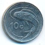 Мальта, 10 центов (2005 г.)