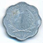 Восточные Карибы, 1 цент (1991 г.)