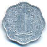 Восточные Карибы, 1 цент (2000 г.)