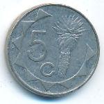 Намибия, 5 центов (1993 г.)