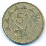 Намибия, 5 долларов (1993 г.)