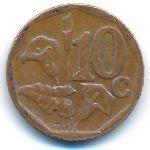 ЮАР, 10 центов (2014 г.)