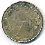 Ватикан, 200 лир (1980 г.)