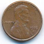 США, 1 цент (1976 г.)