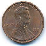 США, 1 цент (1993 г.)